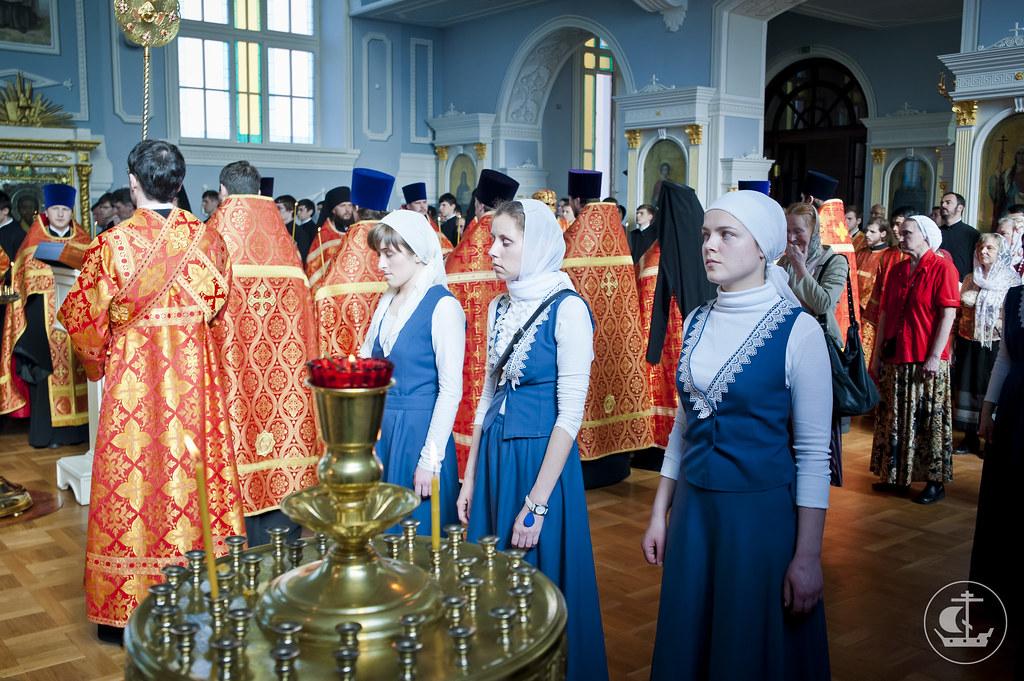 18 апреля 2013, Всенощное бдение накануне Недели 3-й по Пасхе, святых жен-мироносиц