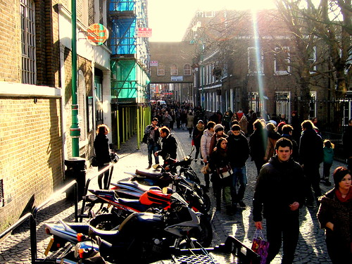 Domingo en Brick Lane, Londres