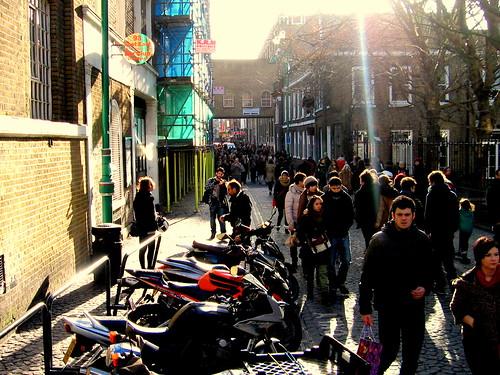 Domingo en Brick Lane, Londres