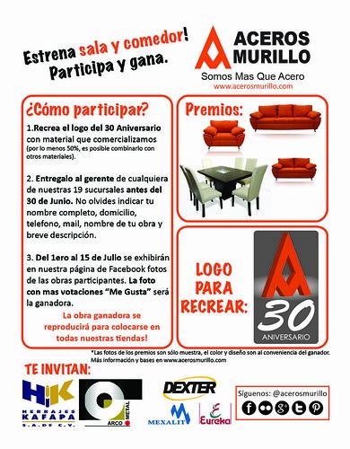 Concurso 30 Aniversario Aceros Murillo by Aceros Murillo