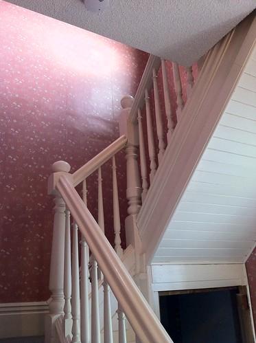 main staircase railing