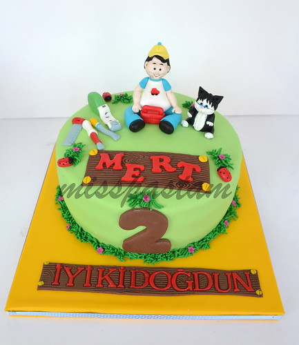 Mert's Birthday Cake by MİSSPASTAM