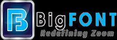 BigFONT Logo for Black Background