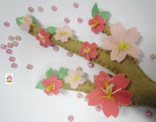♥♥♥ Sakura... by sweetfelt \ ideias em feltro
