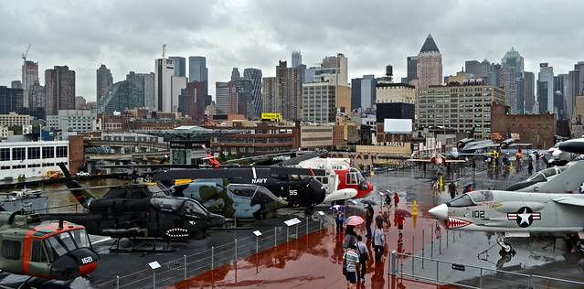 Jets and Aviation on the Intrepid