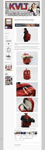 Clark Daypack on Kvlt Magazine