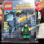 SDCC 2013 LEGO Exclusive Green Arrow Minifigure