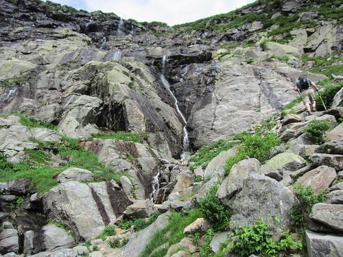 Open Book waterfall