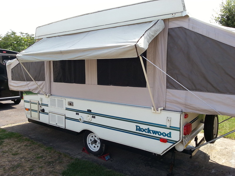 New Most RVs Come Without Anything And The Awnings Still Last Forever Others May Chime In And Say Theyre Better Than Sliced Bread Carefree Has The Alumaguard Metal Wrap It Is A Segmented Aluminum Cover That Simply Slides On