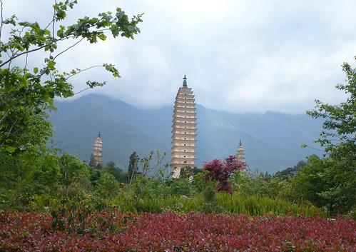 Yunnan13-Dali-1. Pagodes-étang (23)