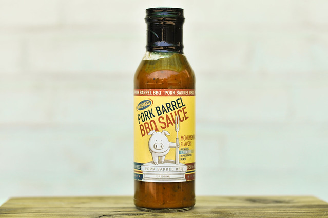 Pork Barrel BBQ Sauce Mustard