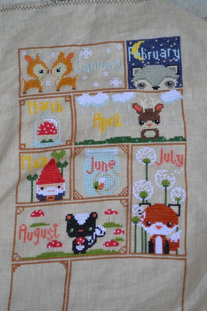 January - August Woodland Sampler