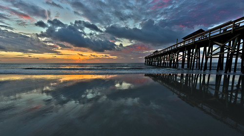 beach sunrise florida explore boardwalk hdr ameliaisland floridalandscape fernadinabeach
