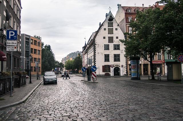 Улицы старой Риги