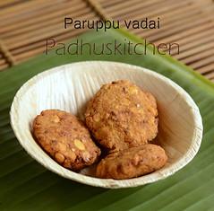 Paruppu Vadai (no onion)