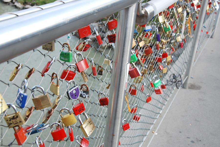 Die Brücke der Verliebten?
