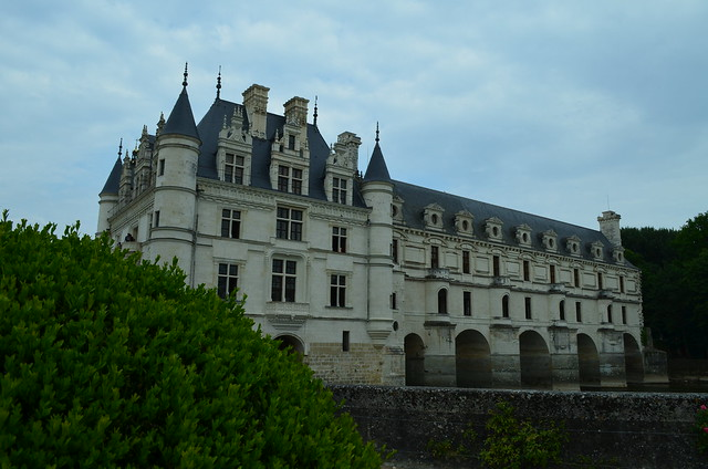 Chateau de Chenonceau view from garden