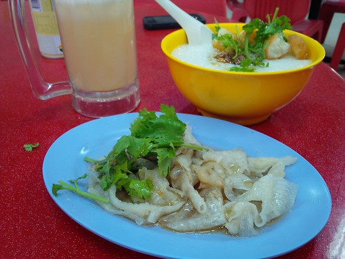 Crystal Chicken Feet and Chicken Porridge