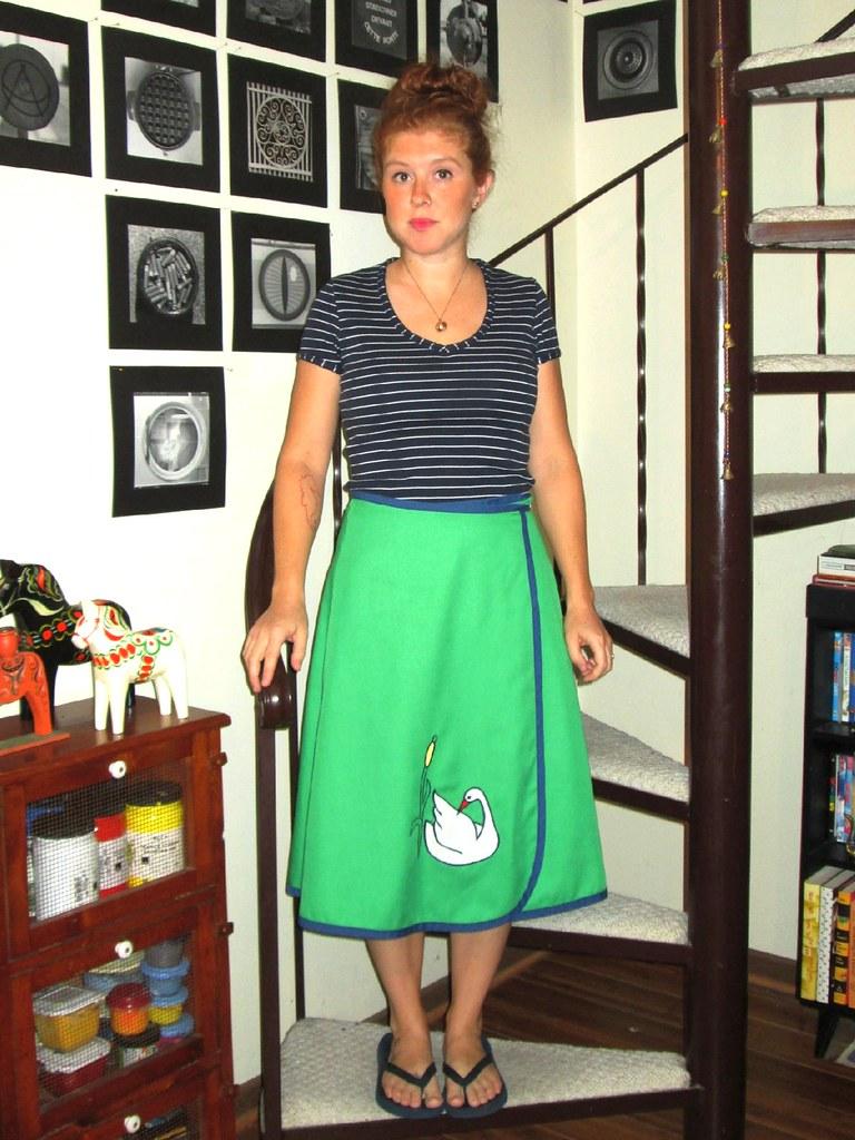 9-25-13 Swan skirt