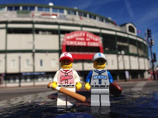 LEGO Collectible Minifigures : Baseball Players