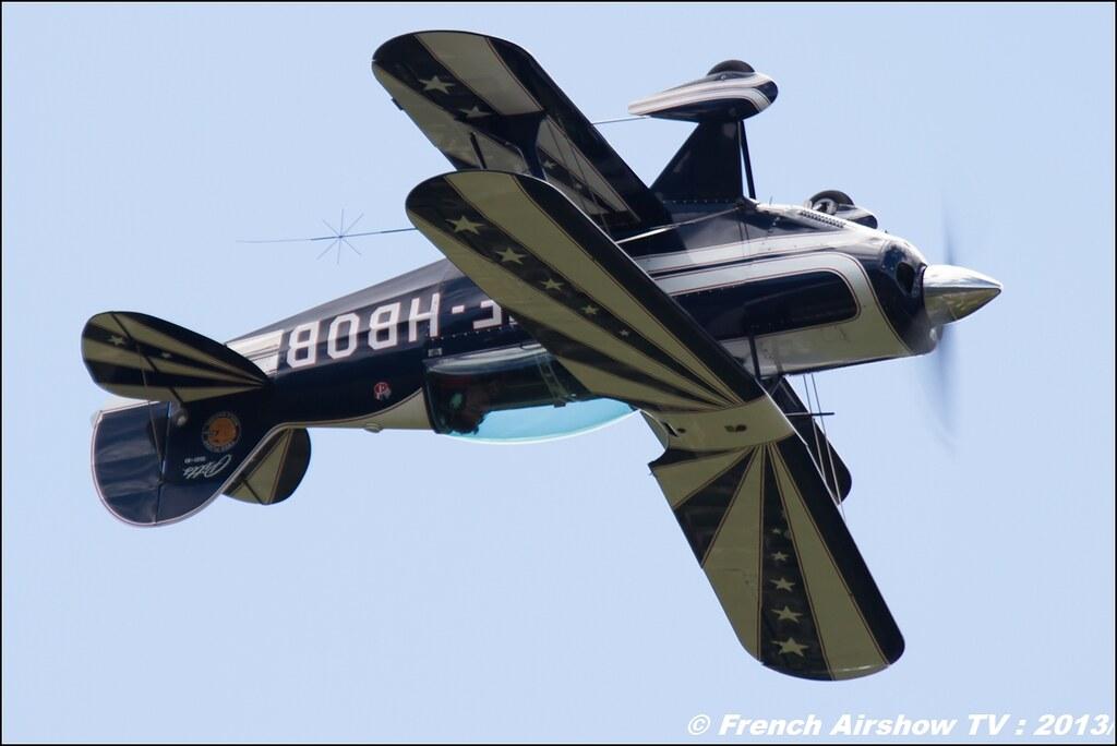 Pitts F-HBOB, Meribel Air Show 2013