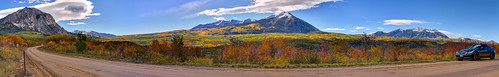 autumn panorama leaves canon colorado unitedstates pano somerset co 5d aspens 70200 kebler