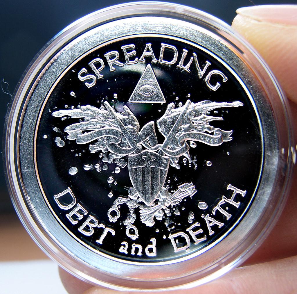 """Colección de onzas de plata """" Silver Bullets & Silver Shield"""" 10174187363_35f11ea3be_b"""