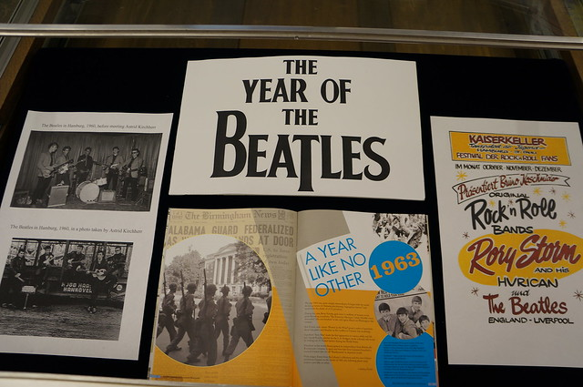 Year of The Beatles display