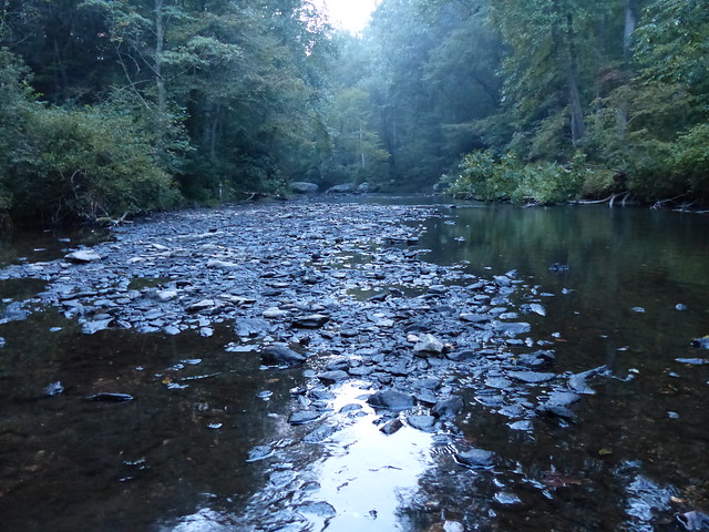 Gunpowder River at 29 CFs Upstream of Falls Rd