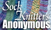 Sock Knitters Anonymous button