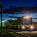 Small photo of Indian Pacific about to depart Broken Hill