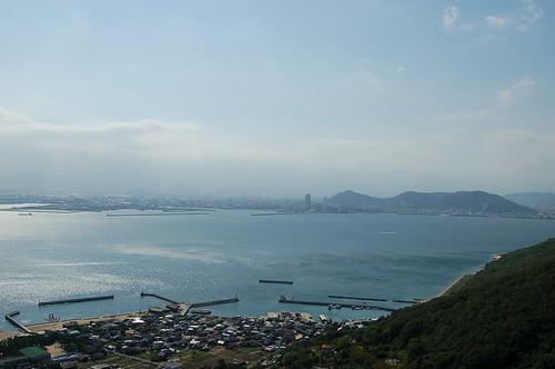 女木島から高松を
