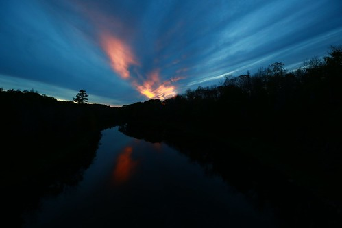 bridge school light color canon river landscape high dover foxcroft foxcroftacademy