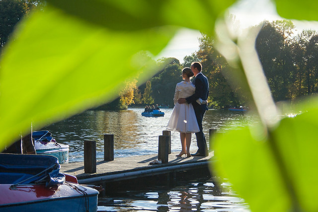wedding photoshoot at Englischergarten