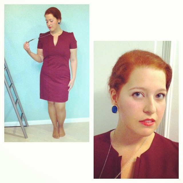 #halloween #costume #josnholloway #madmen #red #crosswires #crosswireslipstic #lookbook #lookoftheday #aotd