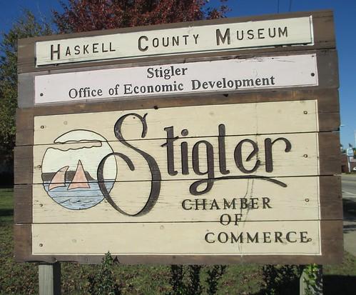 oklahoma ok stigler haskellcounty citywelcomesigns