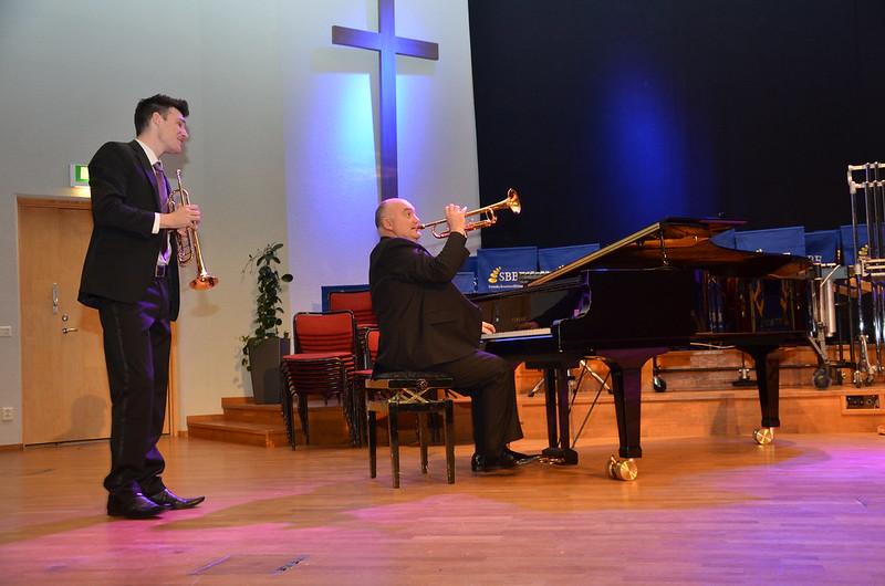 Brassbandfestivalen 2013 - Superduo - Paul Duffy och James Morrison (Foto: Olof Forsberg)
