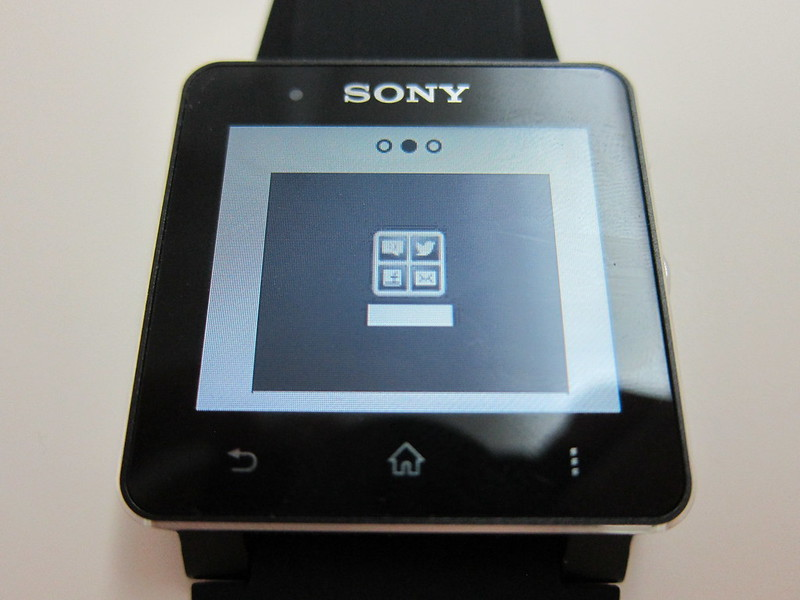 Sony SmartWatch 2 - Notification Style #2