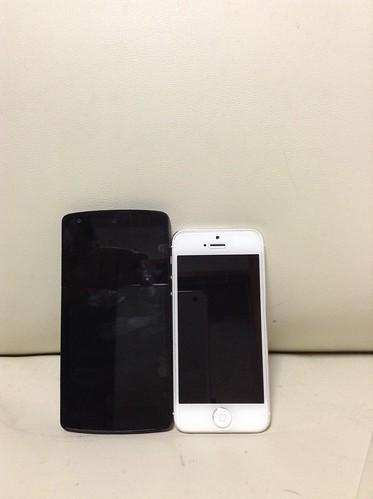 iPhone&Nexus5