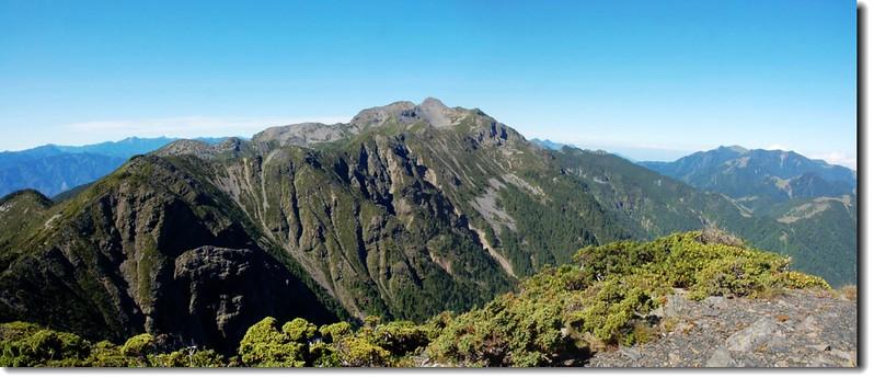 聖稜線南段(From 雪北)