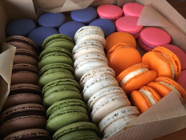 Assorted macarons - Fresh Flours
