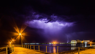 Storm Port Lincoln Jetty