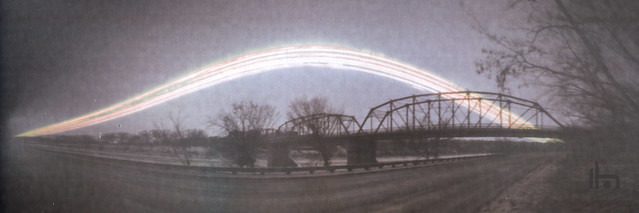 Finley Bridge Solargraphy