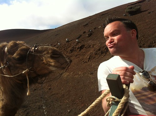 Camel Ride around Lanzarote Mountains