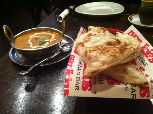 Daal and Naan by raise my voice