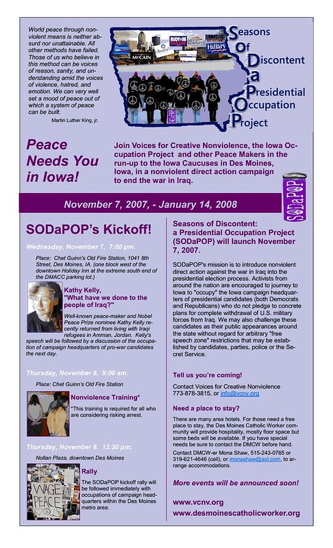 SODaPOP Flyer
