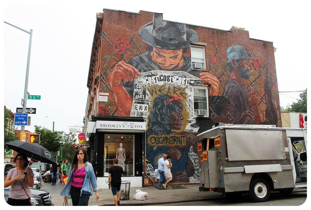 N 6th Street street art mural