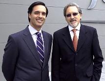 Alfonso Gómez, Telefónica Colombia y Ariel Pontón, Movistar Colombia