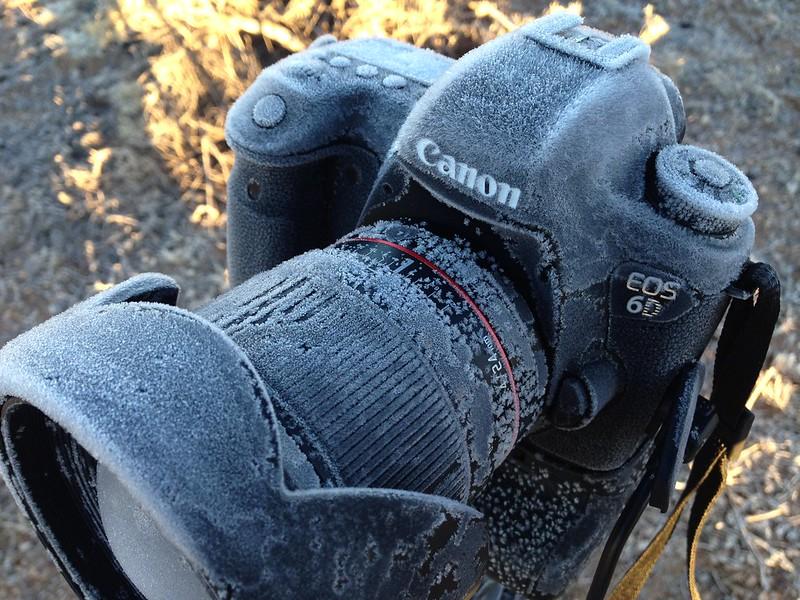 The Camera Got a Bit Cold