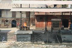 Kremacja zwłok w Kathmandu